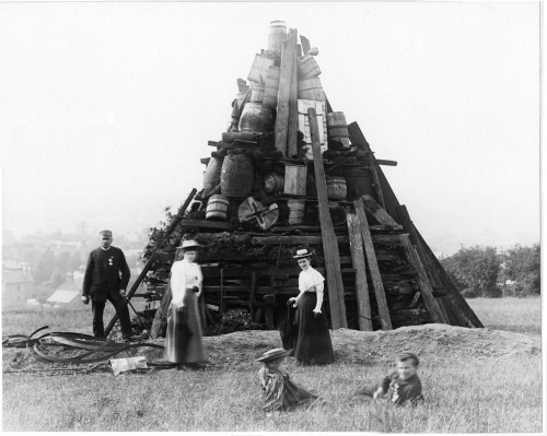 Victoria Diamond Jubilee Beacon 1897