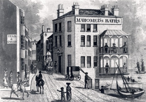 Mahomed's Baths; now The Queens Hotel, Kings Road. Image reproduced with kind permission of Royal Pavilion and Museums Brighton and Hove