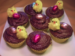 EASTER  CUP  CAKES  recipe