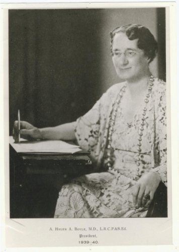 Dr Helen Boyle.  Her work challenged the lunacy laws and set out to establish a holistic system of care for recoverable conditions outside of the asylum system.