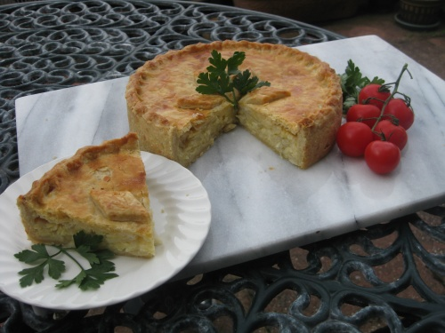 Cheese and Onion Pie  Recipe