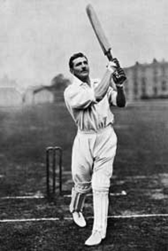 C. B. Fry was an English polymath; an outstanding sportsman, politician, diplomat, academic, teacher, writer, editor and publisher, who is best remembered for his career as a cricketer. Played for Sussex 1894 – 1908.